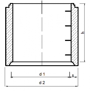 schachaufbau nach en 1917 din v 4034 1 typ 2 nbw. Black Bedroom Furniture Sets. Home Design Ideas